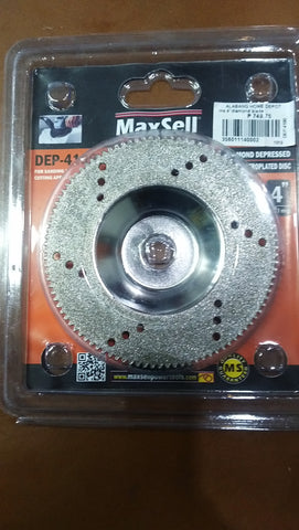 VB Maxwell Diamond Depressed Blade for Sanding & Cutting Application