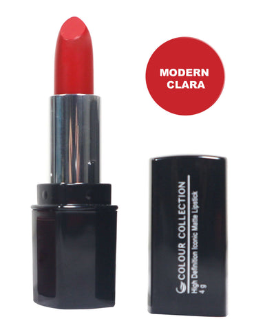 Colour Collection High Definition Iconic Matte Lipstick Modern Clara