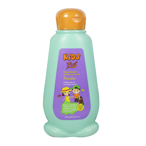 Kids Plus Sun Protect Cooling Vapors Powder 200g with Allantoin