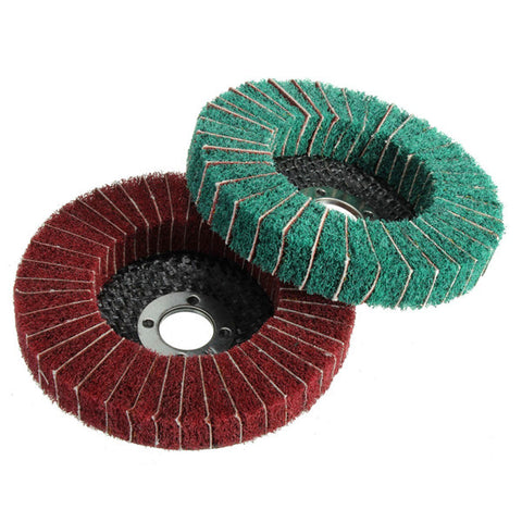 VB Nylon Fiber Wheel Abrasive Polishing Buffing Disc