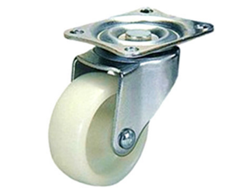 VB  Swivel Nylon Caster Wheels (white)