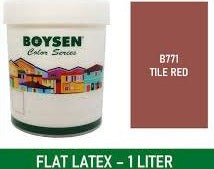 VB Boysen Permacoat Flat Latex B-771  Tile Red