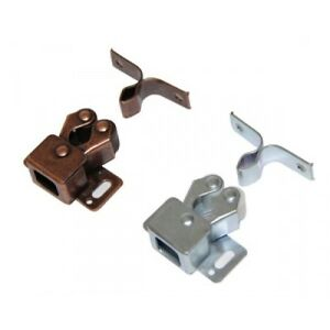 Hafele Double Roller Catches Cupboard Cabinet Door Latch Hardware Copper