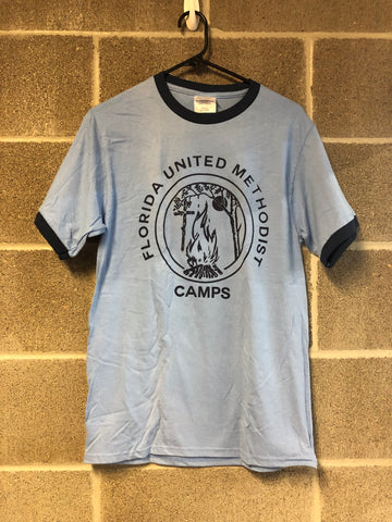 Florida Camp Tee-Blue