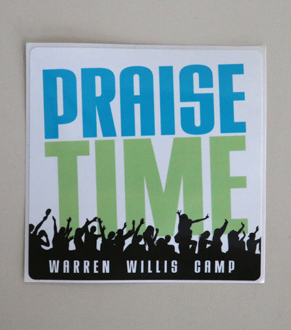 Sticker - Praise Time