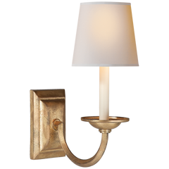 Gordon and Johnson Design Flemish Single Sconce