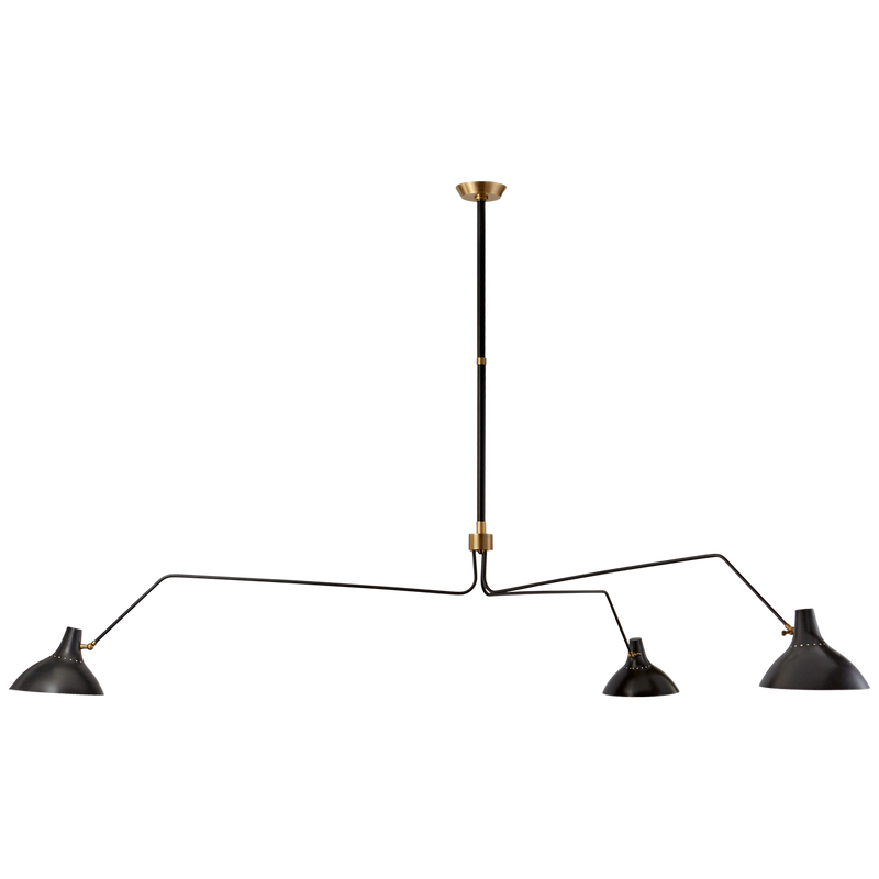 Charlton Grande Triple Arm Chandelier