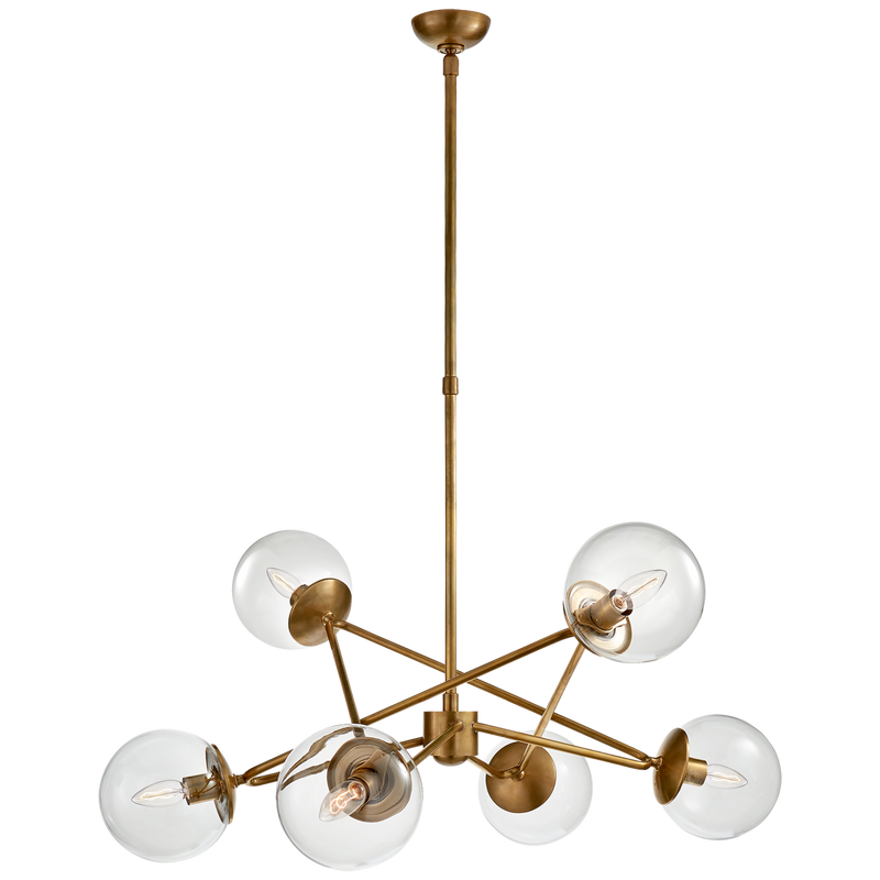 Turenne Large Dynamic Chandelier