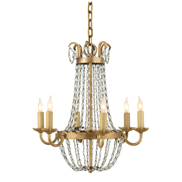 Petite Paris Flea Market Chandelier