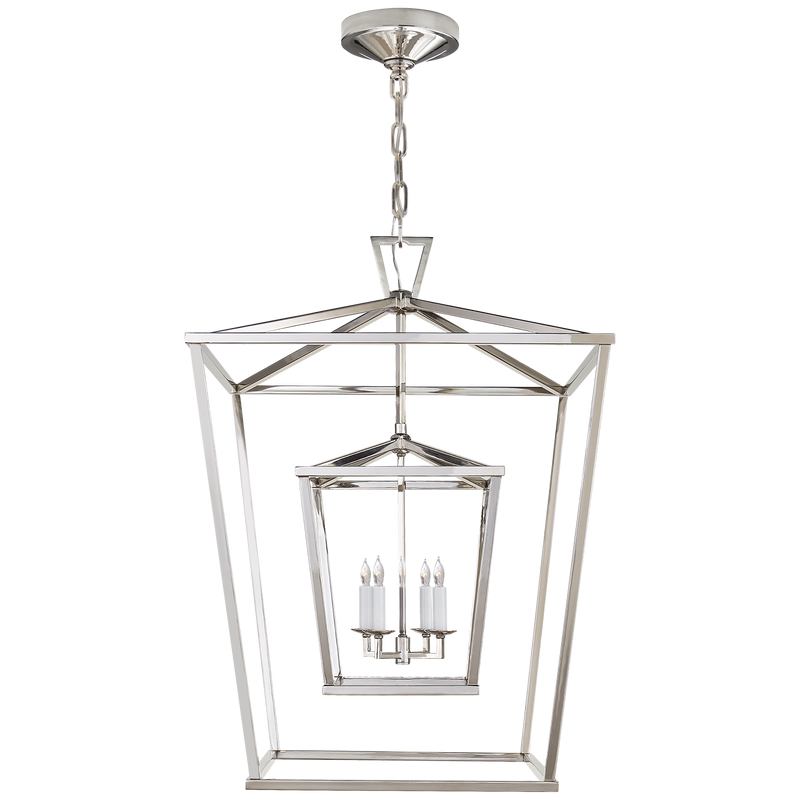 Darlana Large Double Cage Lantern