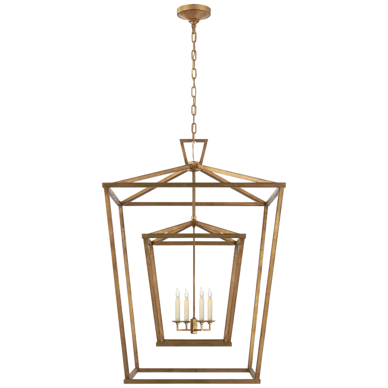 Darlana Extra Large Double Cage Lantern