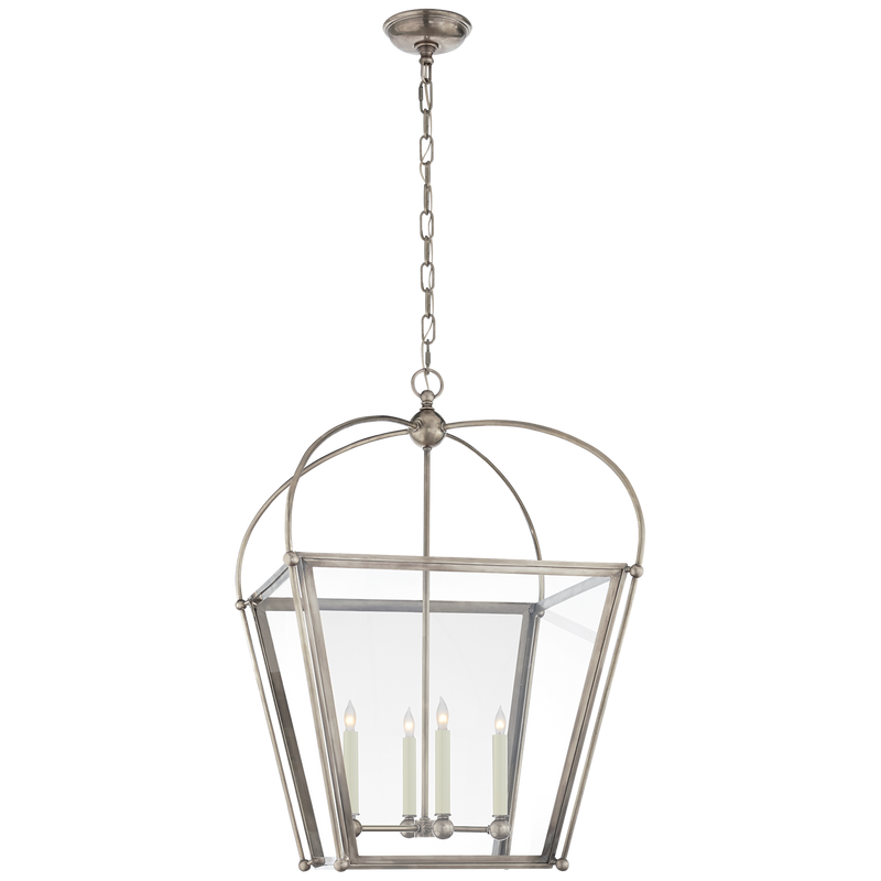 Plantation Medium Square Lantern