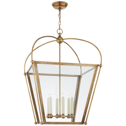 Plantation Large Square Lantern