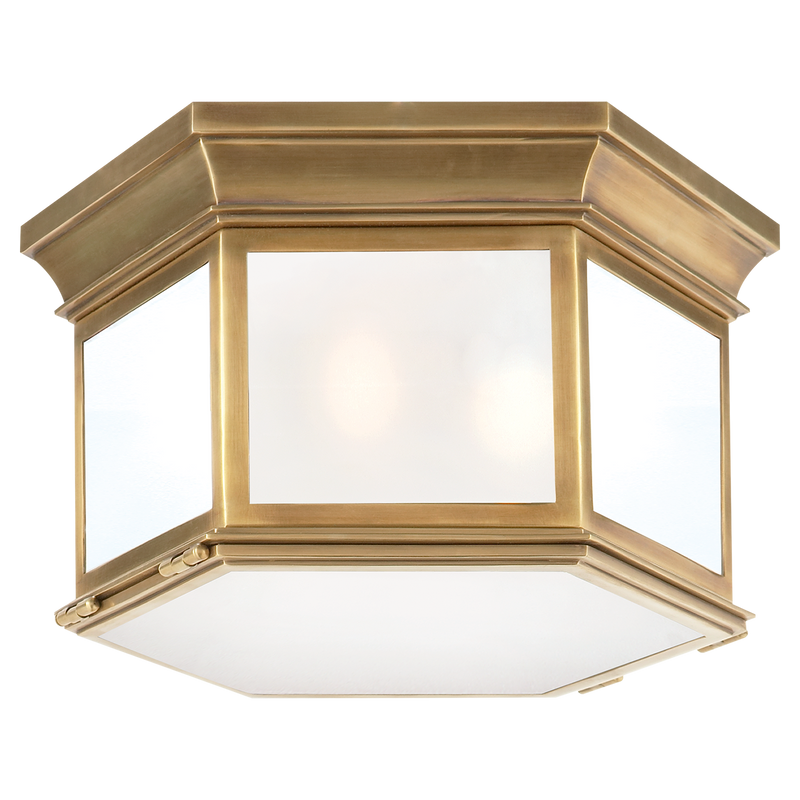 Club Large Hexagonal Flush Mount