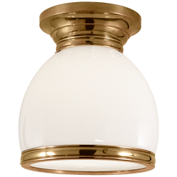 Edwardian Open Bottom Flush Mount