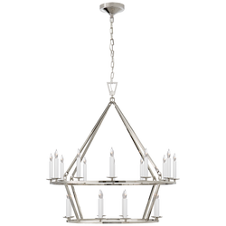 Darlana Medium Two-Tier Chandelier
