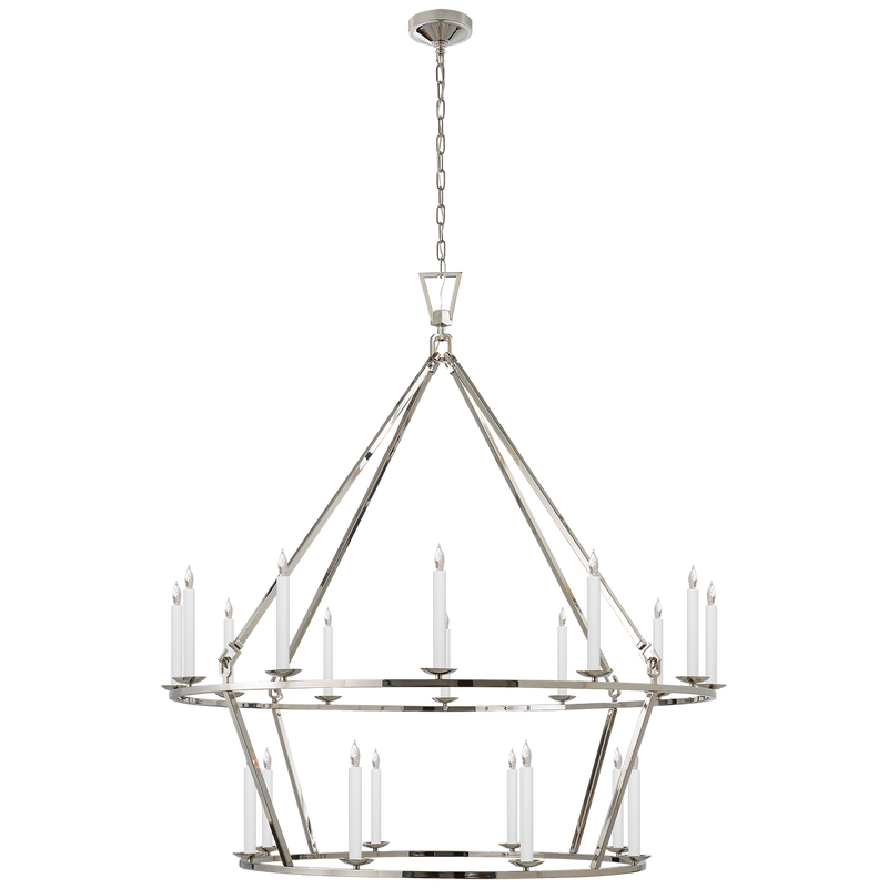 Darlana Extra Large Two-Tier Chandelier