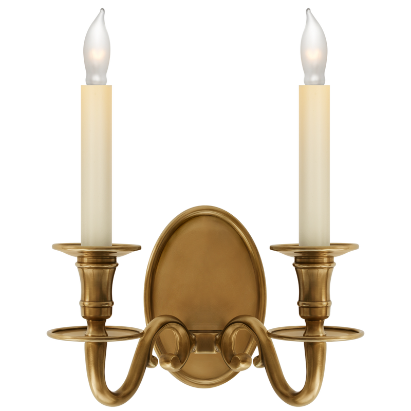 Grosvenor House Double Sconce