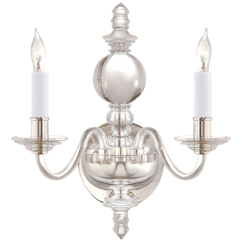 George II Double Sconce