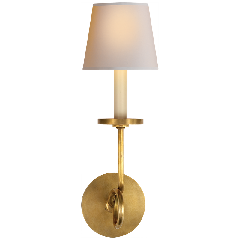 Symmetric Twist Single Sconce
