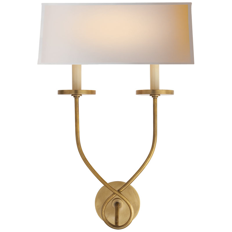 Symmetric Twist Double Sconce