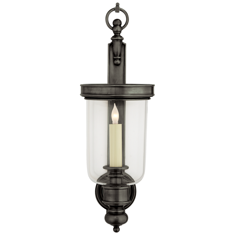 Georgian Small Hurricane Wall Sconce