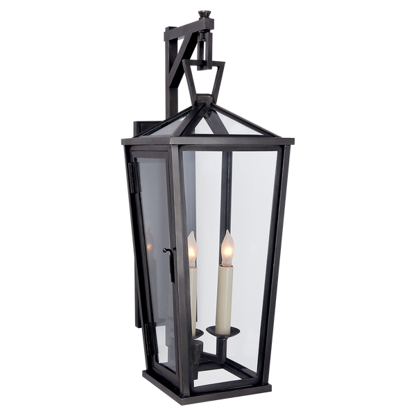 Darlana Small Tall Bracketed Wall Lantern