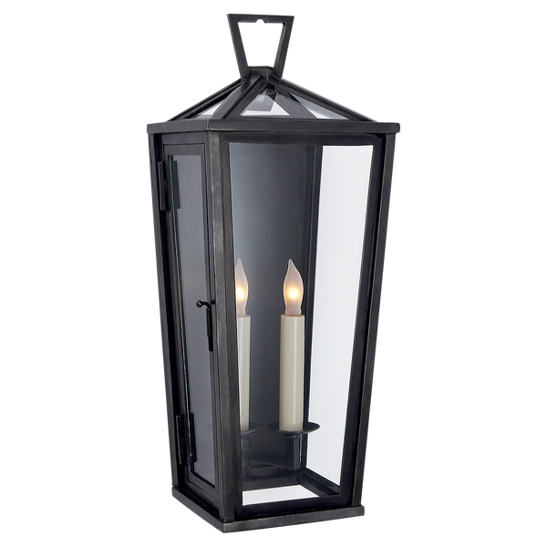 Darlana Small Tall 3/4 Wall Lantern