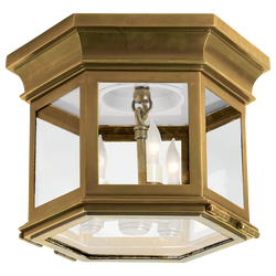 Club Small Hexagonal Flush Mount
