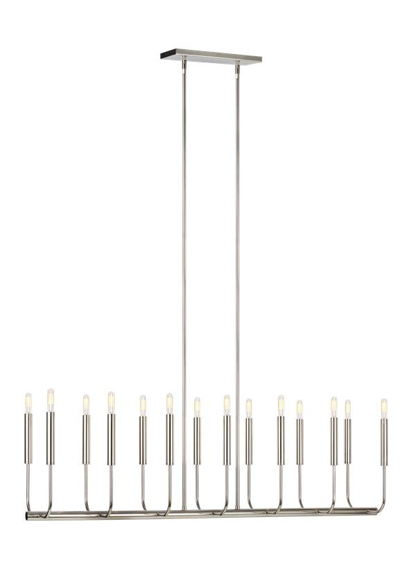Brianna 14 - Light Linear Chandelier