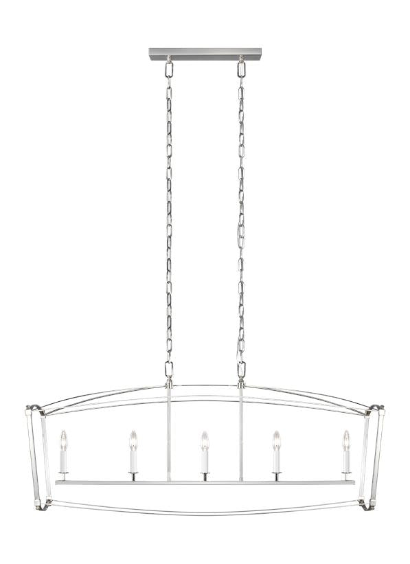 Thayer 5 - Light Linear Chandelier