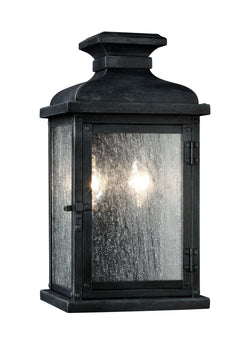 Pediment 2 - Light Outdoor Sconce