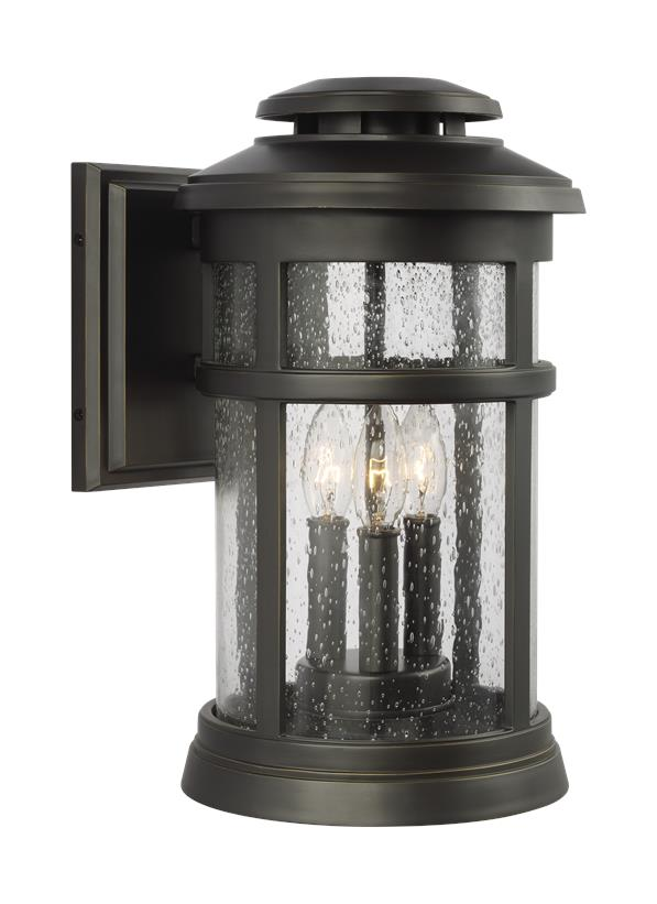 Newport 3 - Light Wall Lantern