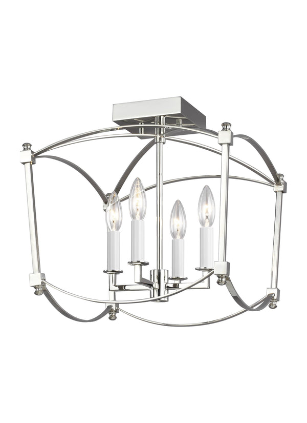 Thayer 4 - Light Semi-Flush Mount