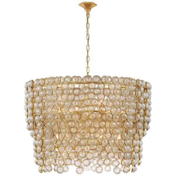 Milazzo Large Waterfall Chandelier