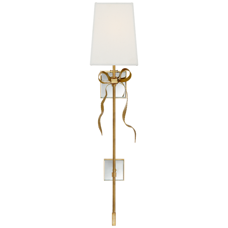 Ellery Gros-Grain Bow Tail Sconce