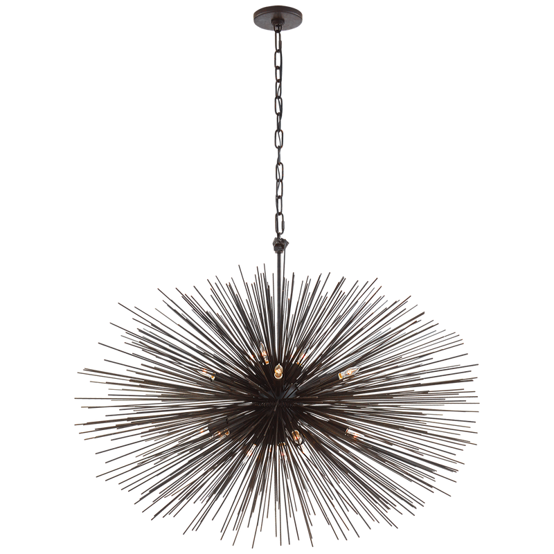 Strada Medium Oval Chandelier