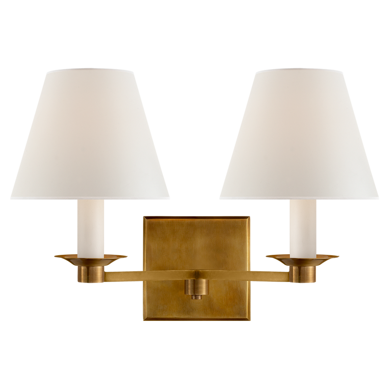 Evans Double Arm Sconce