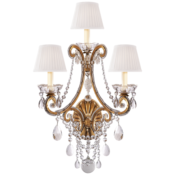Adrianna Triple Sconce