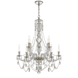 Daniela Medium Two-Tier Chandelier