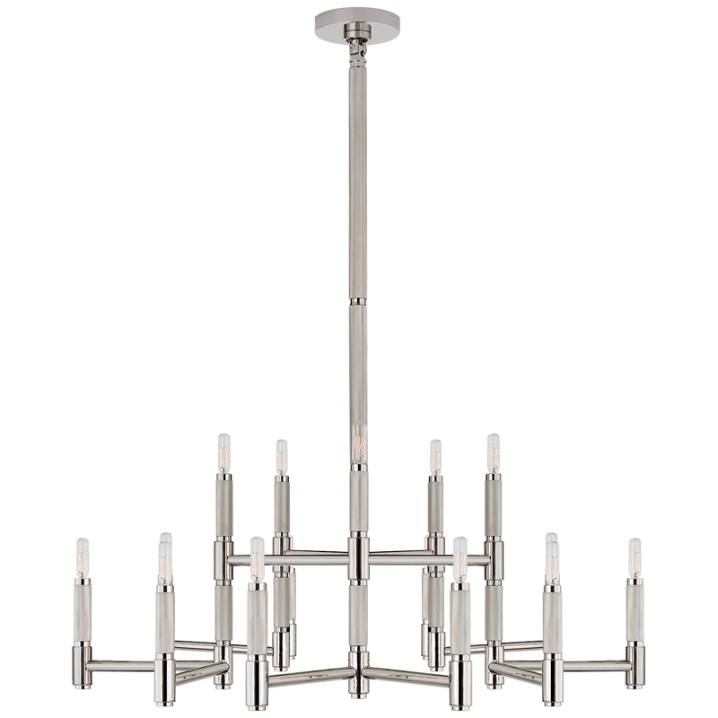 Barrett Large Knurled Chandelier