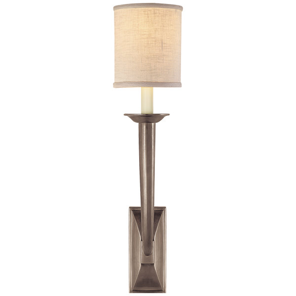 French Deco Horn Sconce