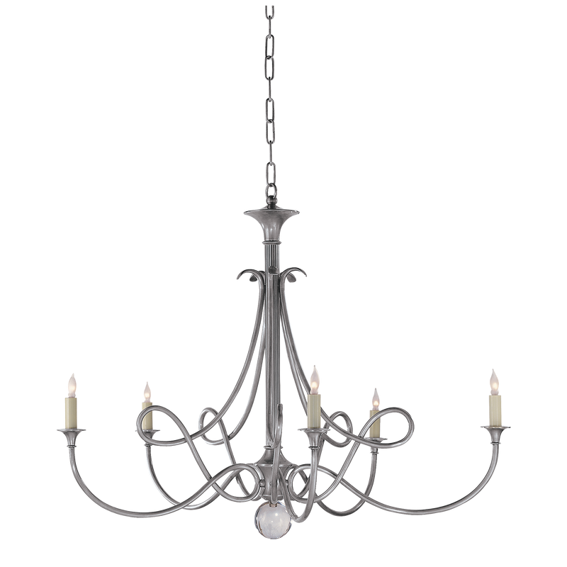 Double Twist Large Chandelier
