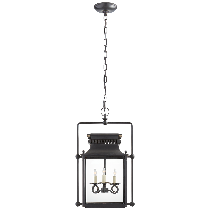 Honore Medium Square Frame Lantern