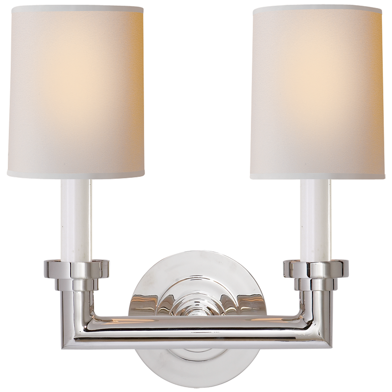 Wilton Double Sconce