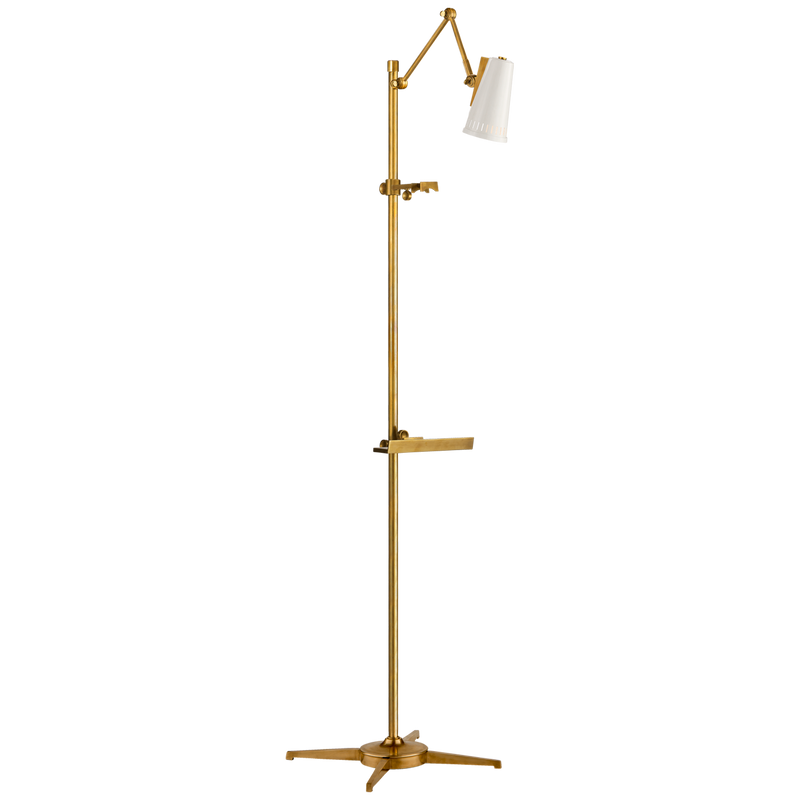Antonio Articulating Easel Floor Lamp