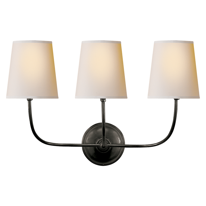 Vendome Triple Sconce