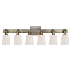 Bryant Six-Light Linear Bath Sconce
