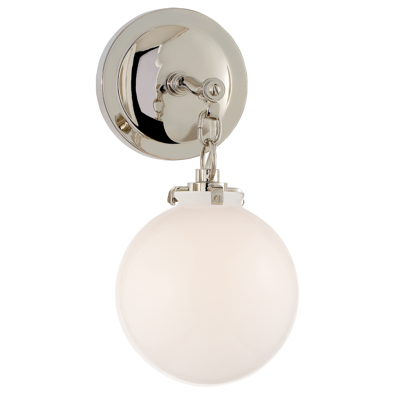 Katie Small Globe Sconce
