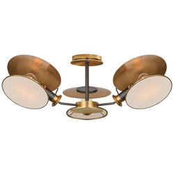 Osiris Medium Reflector Semi-Flush Mount